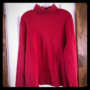 Holiday Editions Red Turtleneck-Tree Decoration-XL
